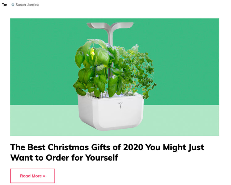 Real Simple Daily Finds: Veritable Indoor Garden