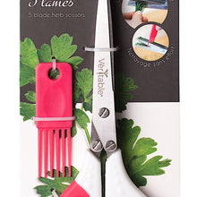 Load image into Gallery viewer, Véritable® 5 Blade Scissors with Comb