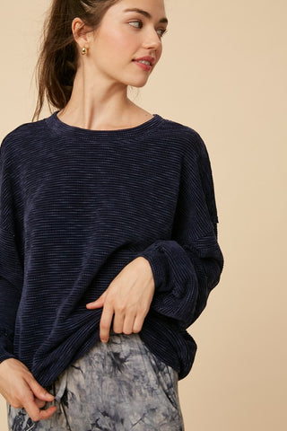 Textured Chenille Sweater