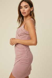 Pretty in Pink Wrap Dress