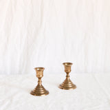 VINTAGE 'BRONTE' PAIR OF CANDLESTICKS