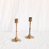VINTAGE 'MARY' PAIR OF CANDLESTICKS