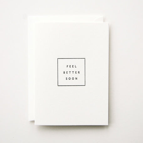 'FEEL BETTER SOON' CARD