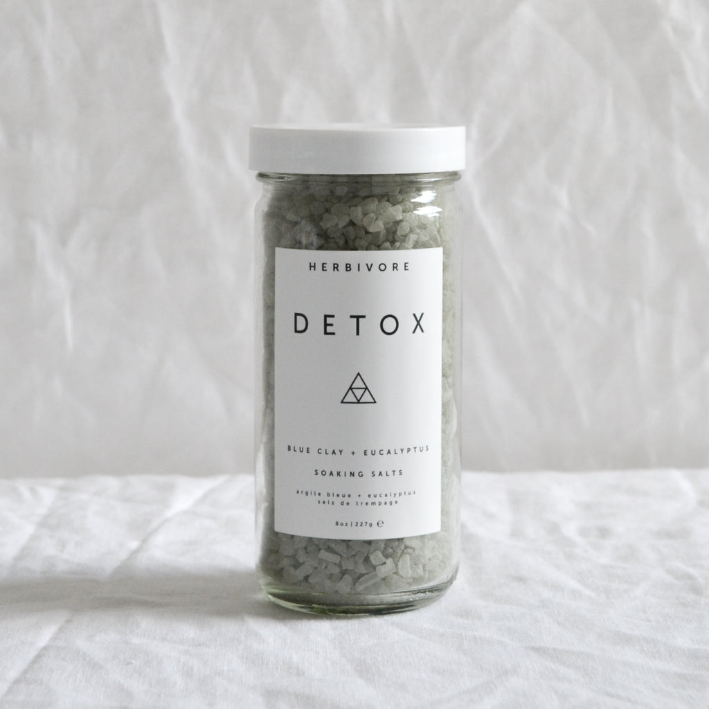 'DETOX' BLUE CLAY & EUCALYPTUS BATH SALTS