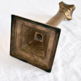 VINTAGE 'IONA' BRASS CANDLESTICK