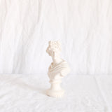 VINTAGE 'POLLUX' SMALL ALABASTER BUST