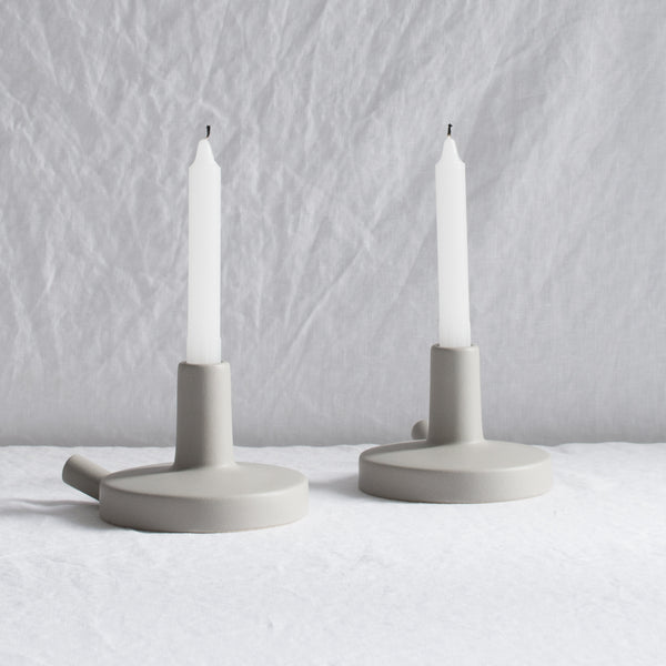 GREY LOVATT CANDLE HOLDER