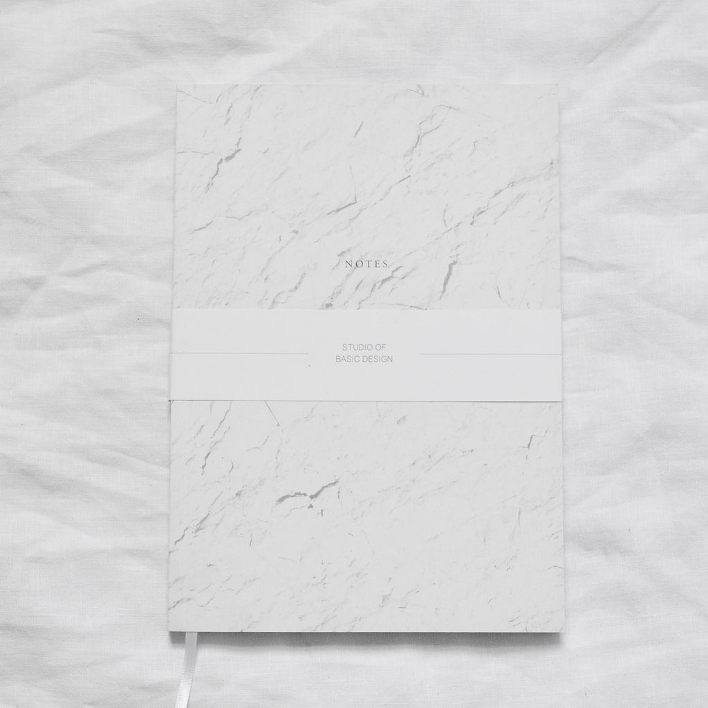 WHITE STONE NOTEBOOK