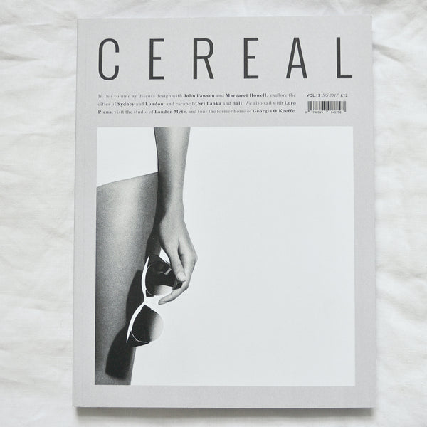 CEREAL MAGAZINE VOLUME 13