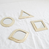MINI MORROCAN BRASS MIRROR SET