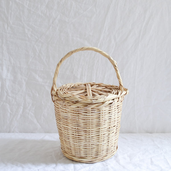 BIRKIN BASKET WITH LID