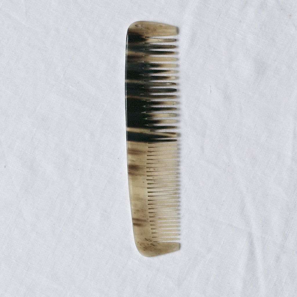DOUBLE TOOTH HORN HAIR COMB