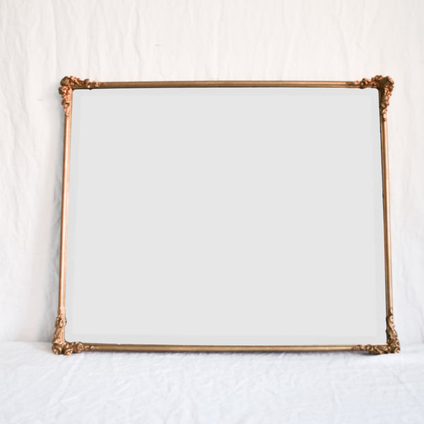 VINTAGE 'JEANNE' LARGE FRENCH GILT MIRROR