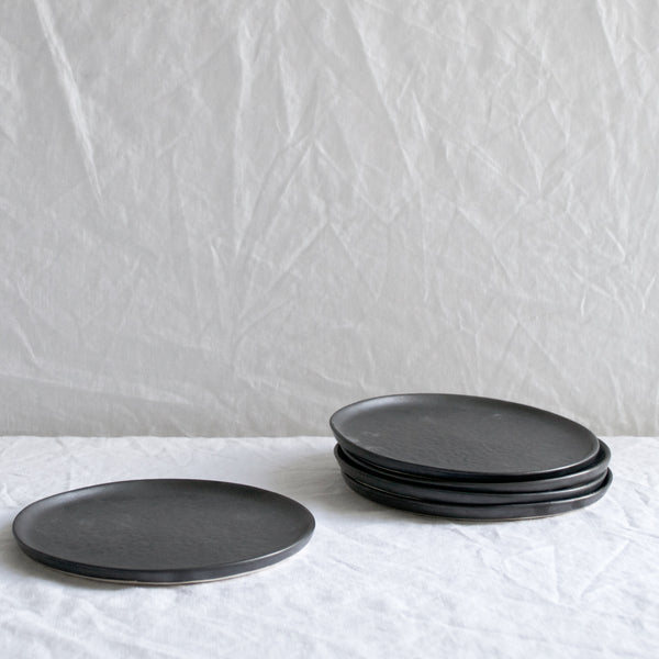 SLATE GREY CERAMIC PLATE SMALL