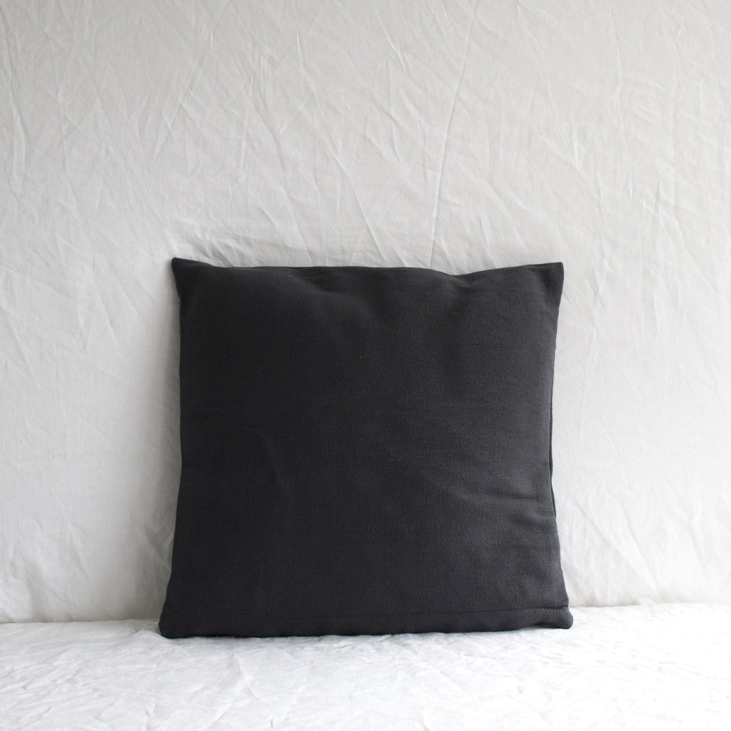 SLATE NAVY COTTON CUSHION