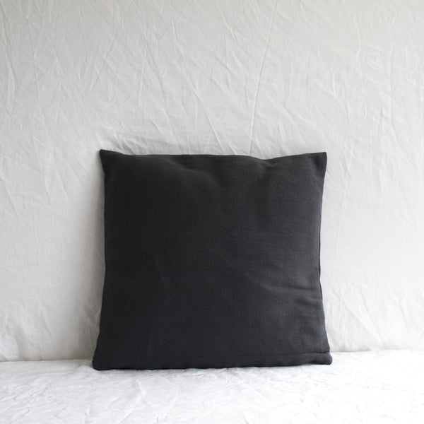 SLATE NAVY COTTON CUSHION WITH INSERT