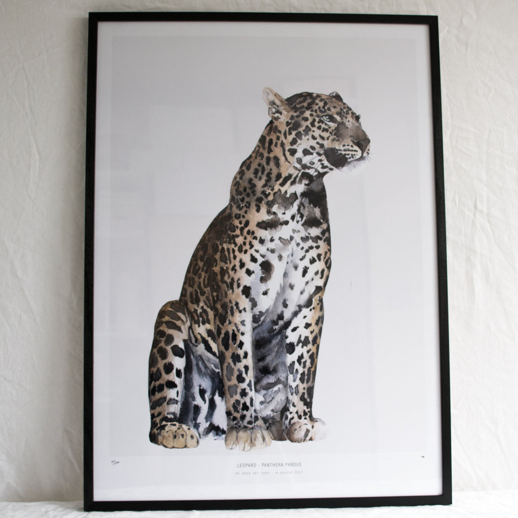 INTO THE WILD // LEOPARD 50 X 70
