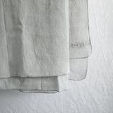 GREY ECO-LINEN TABLECLOTH 160 X 200