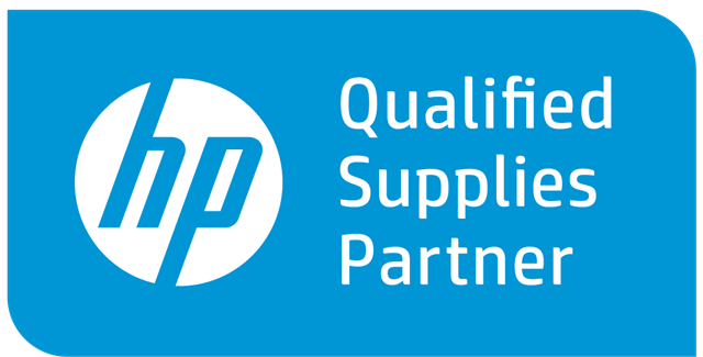 HP Qualified Supplies Partner Logo