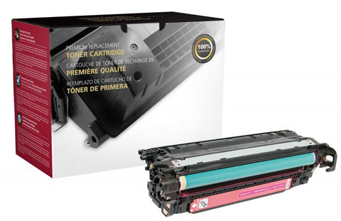 Clover Technologies Group, LLC Clover Imaging Remanufactured Magenta Toner Cartridge for HP CE253A (HP 504A)