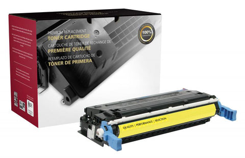 Clover Technologies Group, LLC Clover Imaging Remanufactured Yellow Toner Cartridge for HP C9722A (HP 641A)