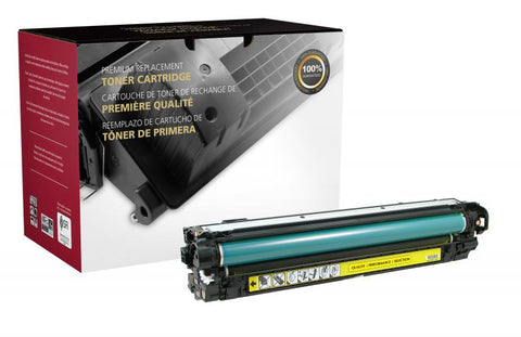 Clover Technologies Group, LLC Clover Imaging Remanufactured Yellow Toner Cartridge for HP CE342A (HP 651A)