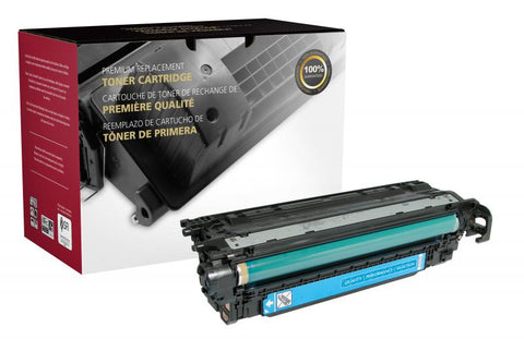 Clover Technologies Group, LLC Clover Imaging Remanufactured Cyan Toner Cartridge for HP CE401A (HP 507A)