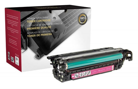 Clover Technologies Group, LLC Clover Imaging Remanufactured Magenta Toner Cartridge for HP CF323A (HP 653A)