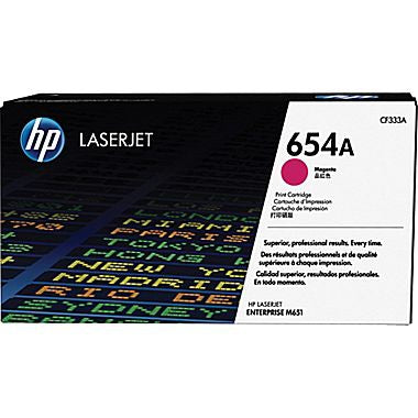 HP 654A (CF333A) Magenta Original LaserJet Toner Cartridge (15000 Yield)