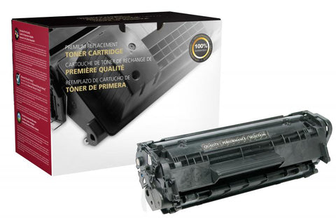 Clover Technologies Group, LLC Clover Imaging Remanufactured Toner Cartridge for HP Q2612A (HP 12A)