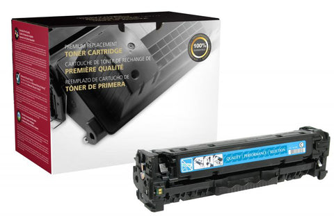 Clover Technologies Group, LLC Clover Imaging Remanufactured Cyan Toner Cartridge for HP CC531A (HP 304A)