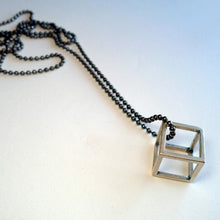 Load image into Gallery viewer, Cube Pendant