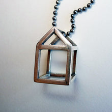 Load image into Gallery viewer, House Pendant