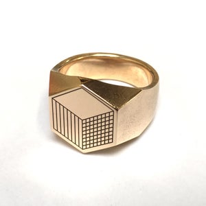 Cube Signet Ring