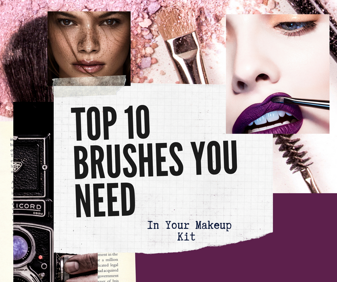 Top 10 Brushes Every Makeup Artist needs