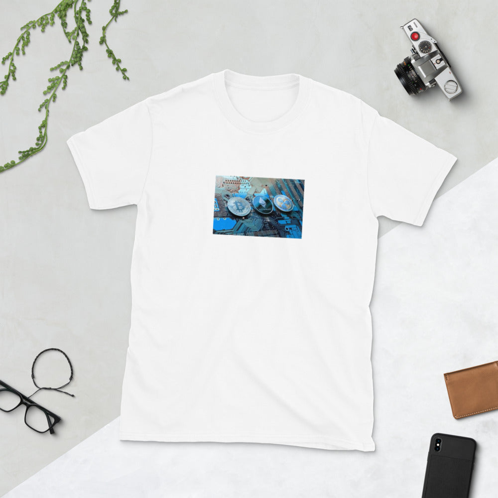 Cryptocurrency Short-Sleeve Unisex T-Shirt
