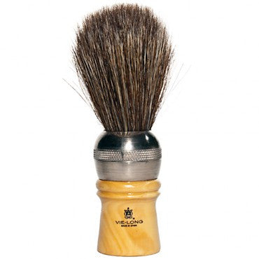 horse hair shave brush // blaireau crin de cheval