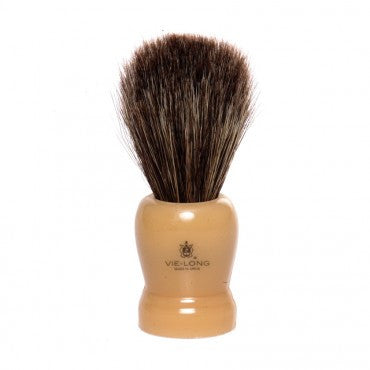 resin handle horse hair shaving brush