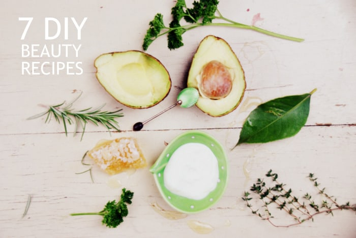 7 DIY Beauty Recipes for Glowing skin