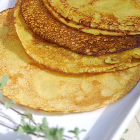 Savoury pancake recipe clean food luk beautifood