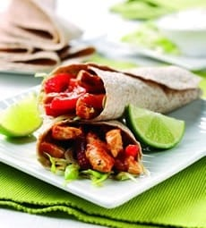 Chicken Burrito Wraps