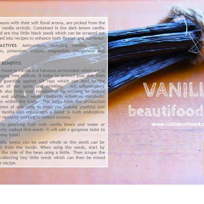 Beauty benefits of vanilla beauty food vanilla luk beautifood