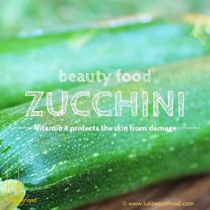 Beauty Benefits of Zucchini beauty food zucchini luk beautifood