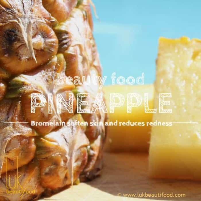 Beauty Benefits of pineapple beauty food pineapple luk beautifood