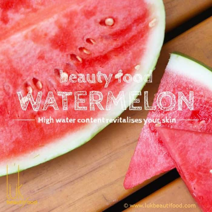 Beauty Benefits of watermelon beauty food watermelon luk beautifood