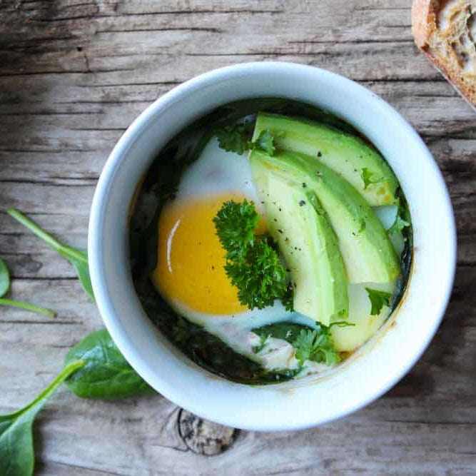 Eggs en cocotte recipe clean food luk beautifood