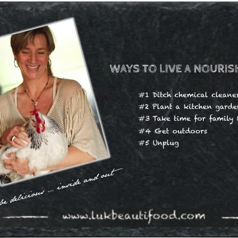 Nourished life - 5 ways how to live