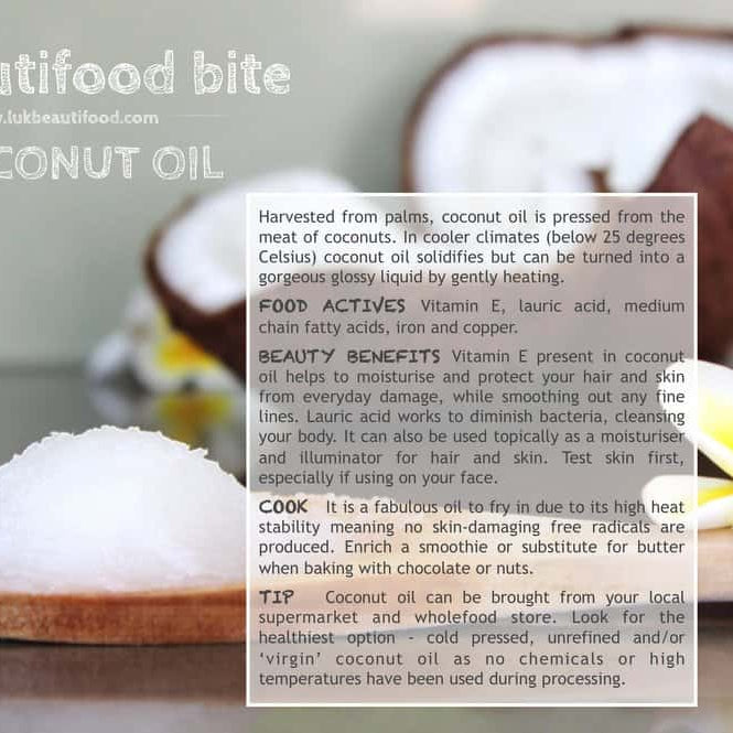 Coconut oil skin and beauty benefits