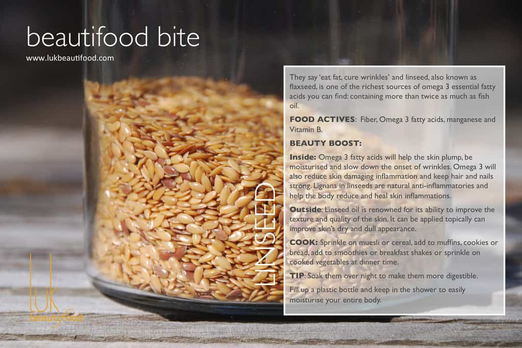 beautifood bite | flaxseeds