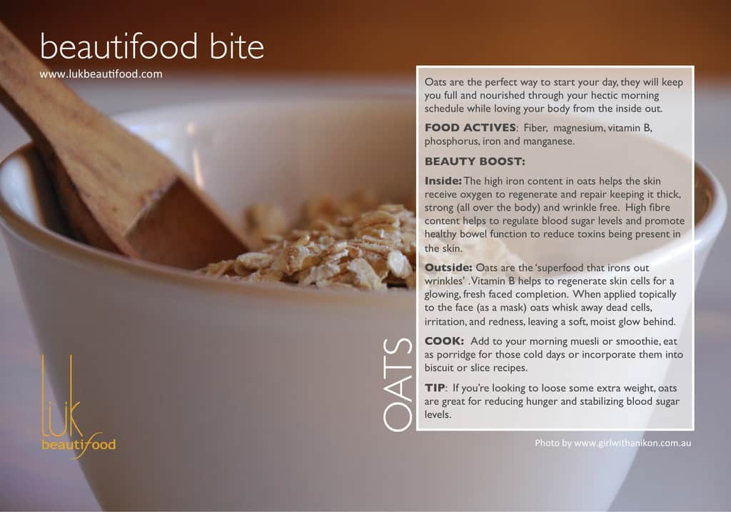 beautifood bite | oats